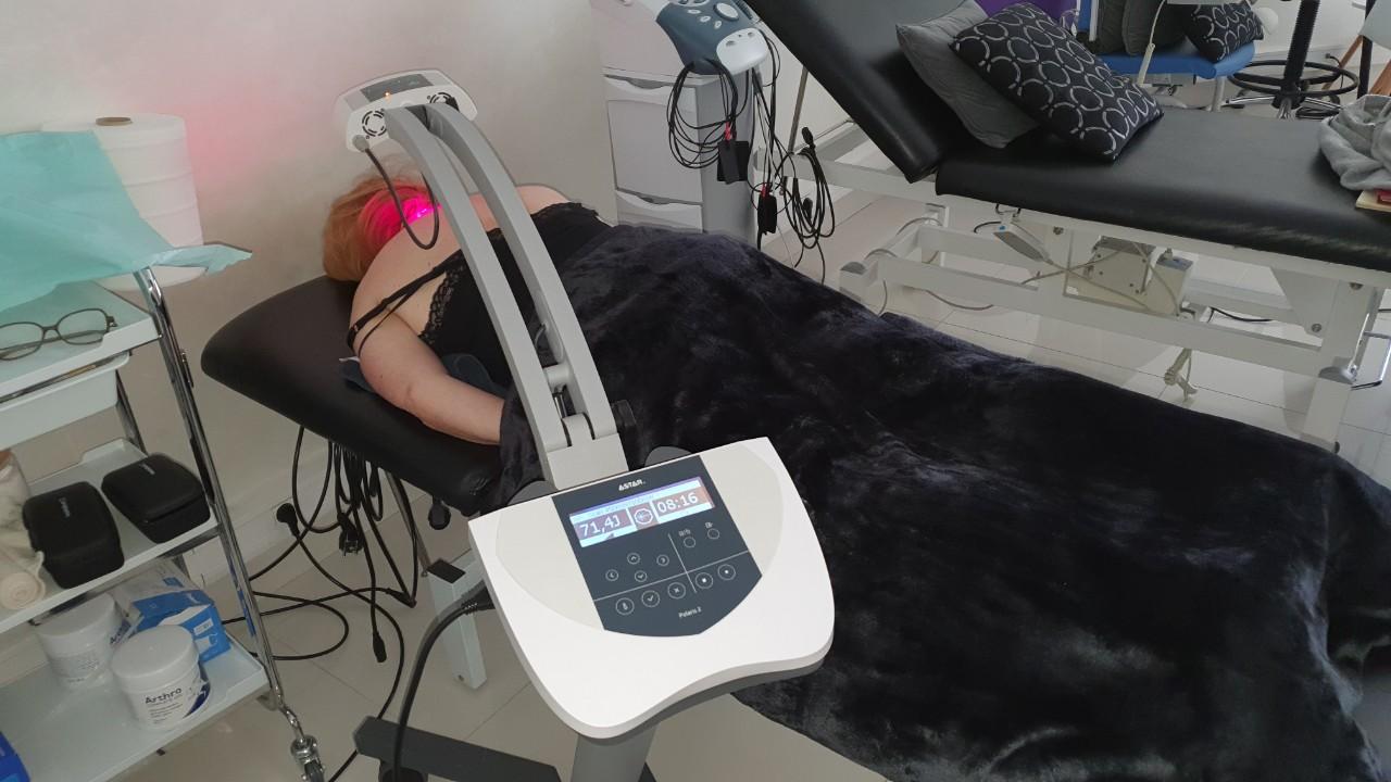 Terapija bola u vratnom delu kičme skenirajućim laserom