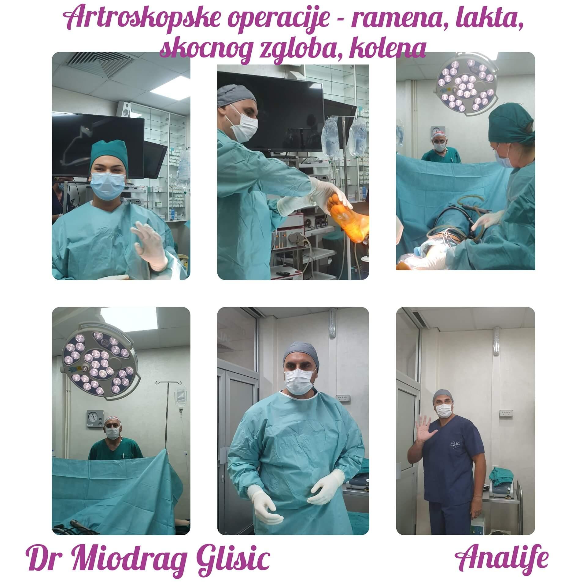 Artroskopske operacije