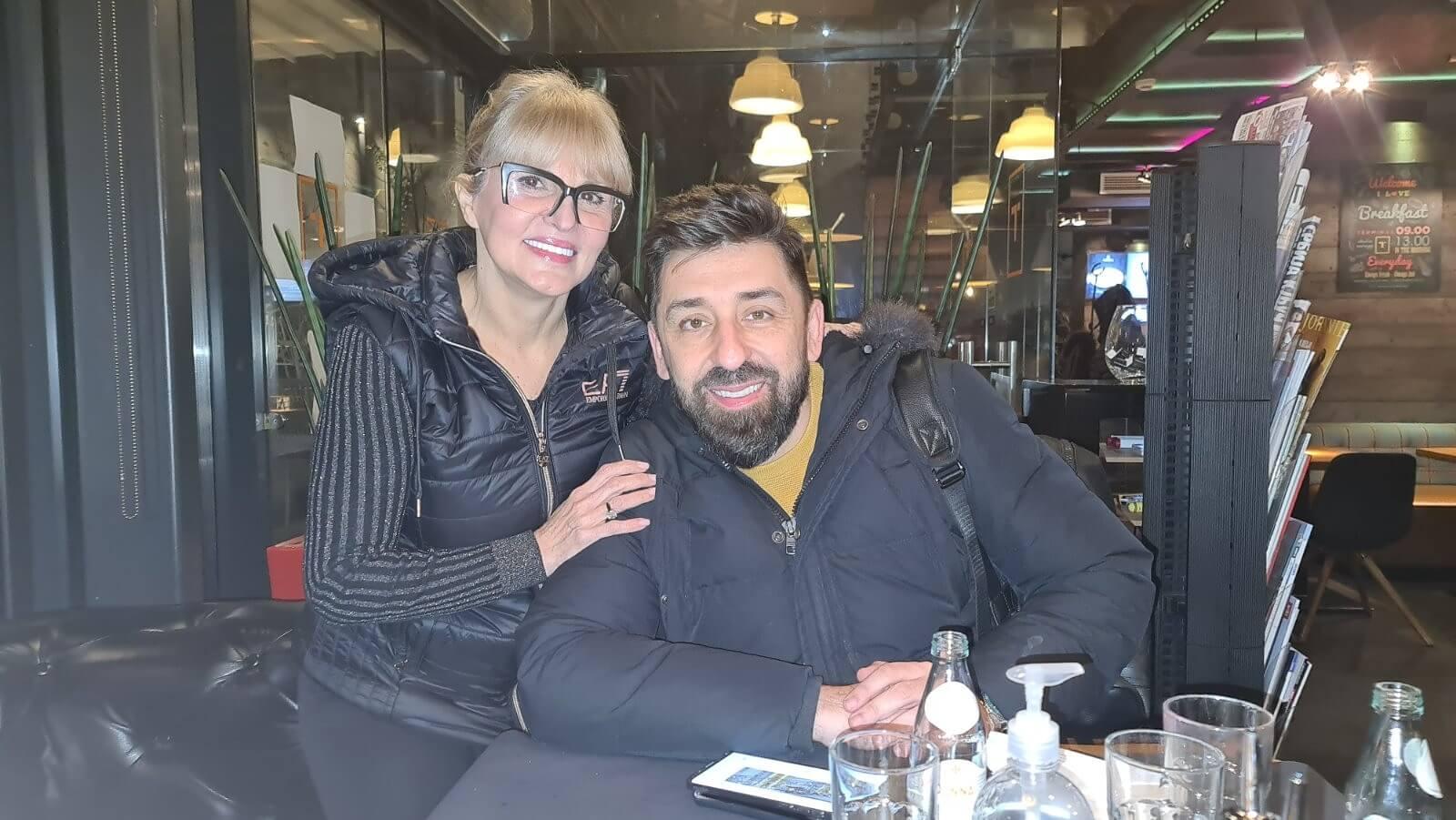 Dr Ana Miholjčić sa našim dragim @ognjenamidzic....