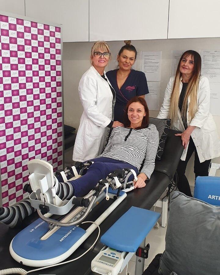 Rehabilitacija na CPM robotu za koleno