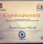 Bolnica analife sertifikati